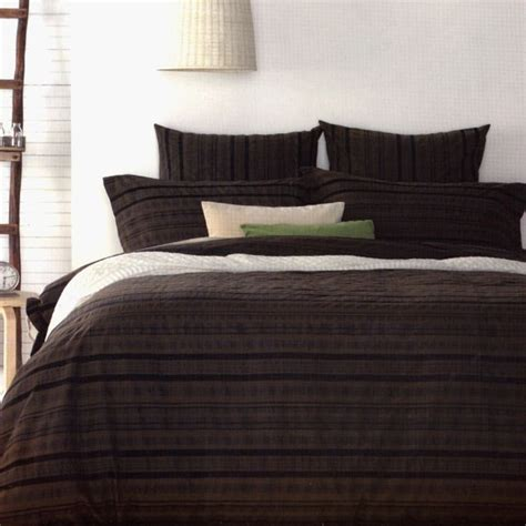 Chocolate Brown Duvet Covers by Brown Chocolate Chestnut Textured Quilt Doona
