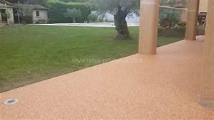 Revetement Mousse Exterieur : revetement sol pour terrasse ~ Premium-room.com Idées de Décoration