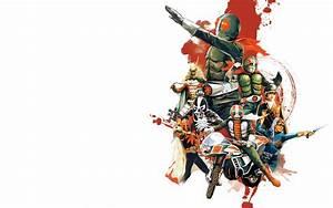 Henshin and Rollout: Kamen Rider Wallpaper