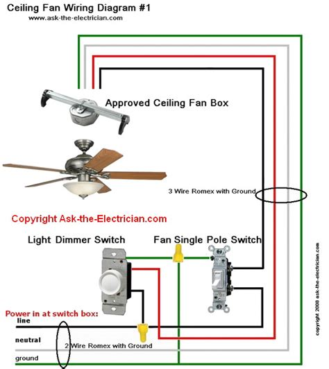 How Wire Ceiling Fans Switches
