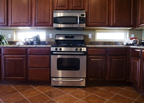 kitchen ideas with cherry cabinets mahogany kitchen cabinets modernize