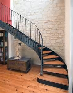 photo dt33 esca droit 174 1 4 tournant escalier d