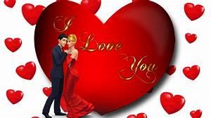 I, Love, You, Loving, Couple, Red, Heart, Desktop, Hd, Wallpaper