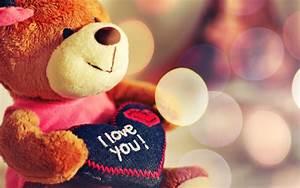 I, Love, You, Teddy, Bear, Hd, Wallpaper