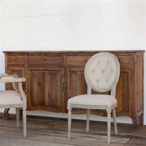 Country Sideboards by Park Hill Country Sideboard Iron Accents