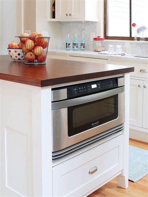 integrate  microwave kitchen design kitchen