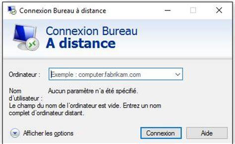 windows bureau a distance bureau a distance connexion bureau distance windows probl