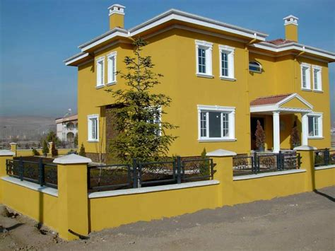 exterior exterior paint color ideas with iron fence