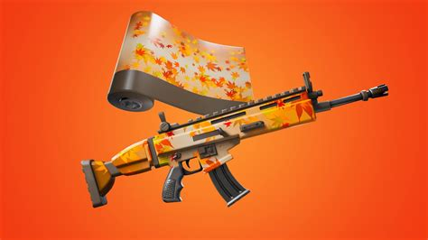 Fortnite Free Animated Falling Leaf Wrap Available Through ...