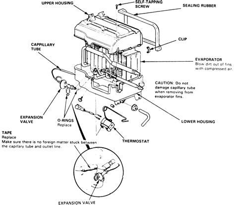 repair guides air conditioner expansion valve