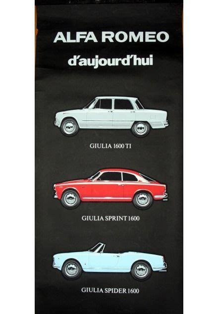 1960s Alfa Romeo by 1960s Alfa Romeo Today Advertising Poster Alfa Romeo