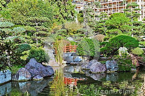 Japanischer Garten Monte Carlo by Japanischer Garten In Monte Carlo Stockfoto Bild 55874857