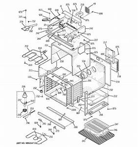 Assembly View For Body With Microwave Support