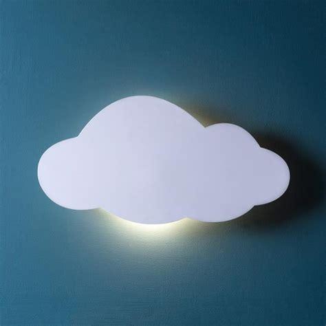 le murale nuage blanc r 233 tro 201 clair 233 avec led blanc chaud 224 piles achat vente le murale