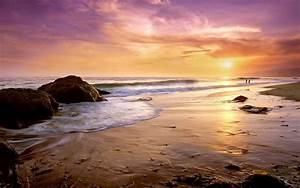 Paisaje Playa Atardecer