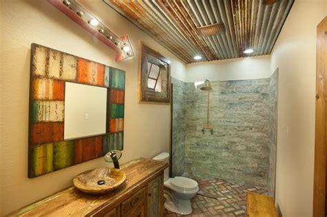 Reclaimed Rustic Bathroom-rustic-bathroom-dallas