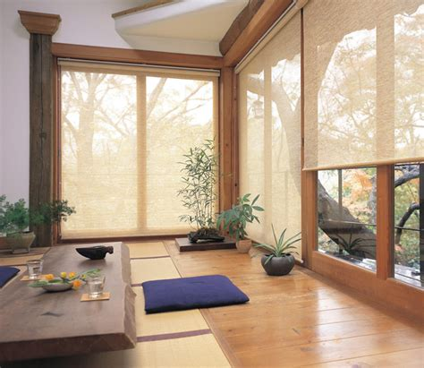 roller blinds modern sunroom brisbane  veneta blinds