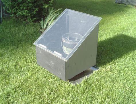simple diy quot quot solar batch water heater