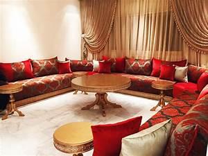 Photo Deco Salon : salons marocains archives espace deco ~ Melissatoandfro.com Idées de Décoration