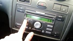 2007 Ford Fiesta How To Unlock The Radio
