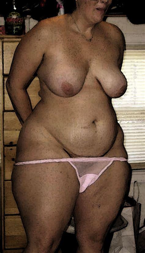 Mature Big Hips And Ass Cumception