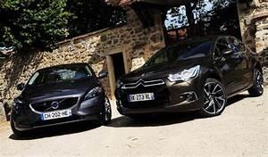 Avis Volvo V40 : essai comparatif citro n ds4 1 6 thp 200 ch vs volvo v40 t4 1 6 180 ch ~ Maxctalentgroup.com Avis de Voitures