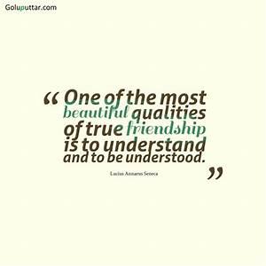 Unique Friendship Quote Understanding Each Other, Photos ...