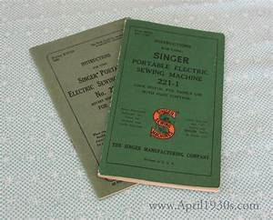 Singer Featherweight 221 222 Manual  U0026 Service Manuals