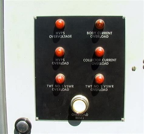 big vintage electrical electronics control panel gauges