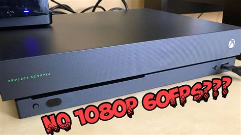 Xbox One X Does Not Record In 1080p 60fps Without A 4k