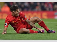Philippe Coutinho injury update Liverpool star pictured
