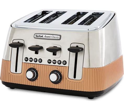 Tefal Avanti Toaster by Buy Tefal Avanti Classic Tt780f40 4 Slice Toaster Copper