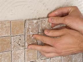 installing tile backsplash in kitchen how to install a kitchen tile backsplash hgtv