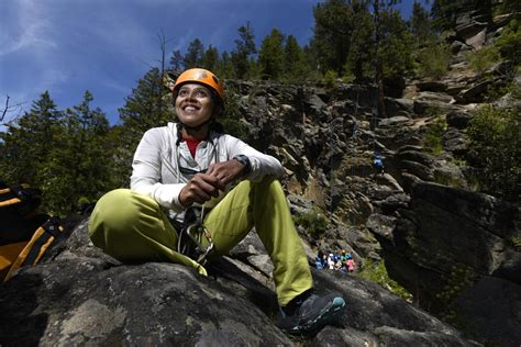 Rock Climber From India Comes Missoula Local