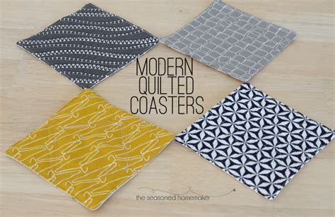 create quilted coasters   hour
