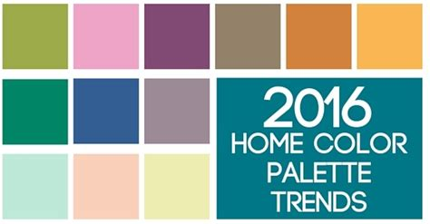 color palette for home interiors 9 home decor color trends to look for in 2016