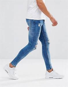 Lyst - Kings Will Dream Super Skinny Jeans In Midwash Blue ...