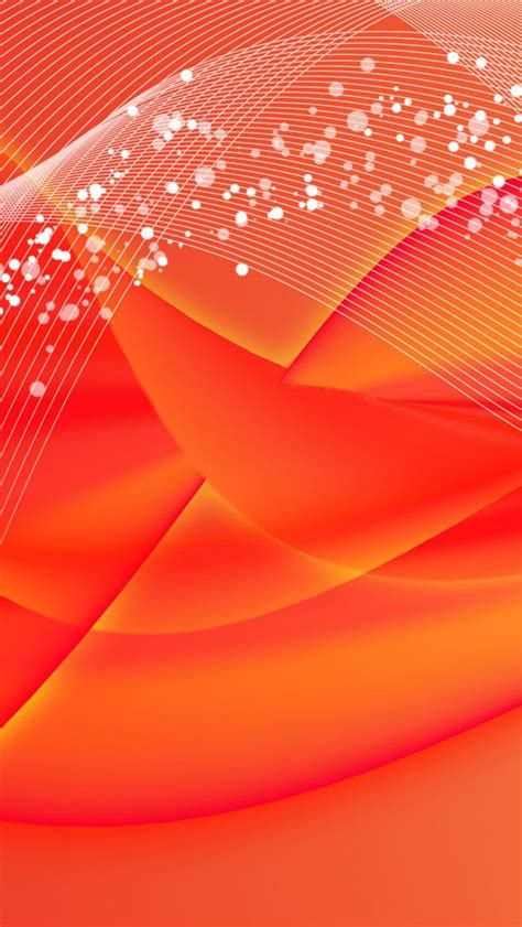 Abstract Orange Color Wallpaper by Orange Pink Abstract Glow Iphone Wallpaper Color