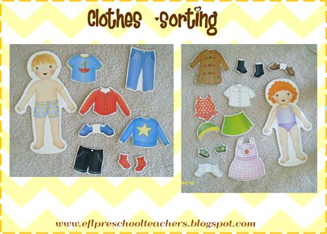 esl efl preschool teachers clothes theme teaching 991 | 07e34f34d7262570f04d3ea67f6e070d