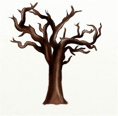 Tree Dead Clip Trunk Cliparts