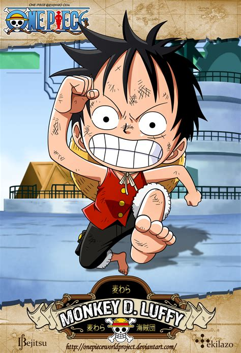 one monkey d luffy by onepieceworldproject on deviantart