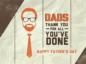 Fathers Day Thank You Dad PowerPoint Template | Fathers ...