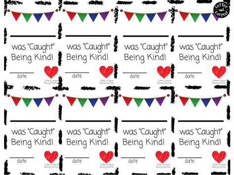 reward kindness   caught  kind cards
