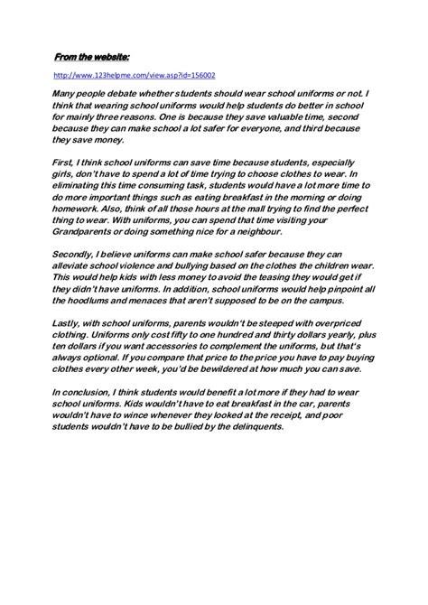 Usc Resume Marshall by School Uniforms Essays Pevita