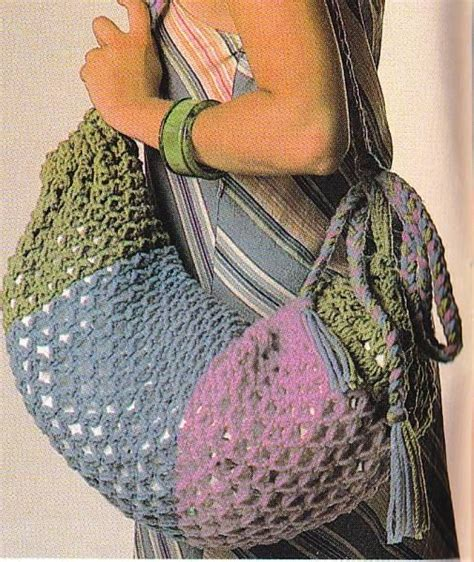 crochet knot stitch creatys for vintage crochet pattern knot stitch bag by