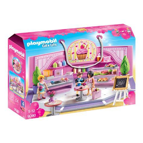 chambre bébé playmobil playmobil city café cupcake 9080