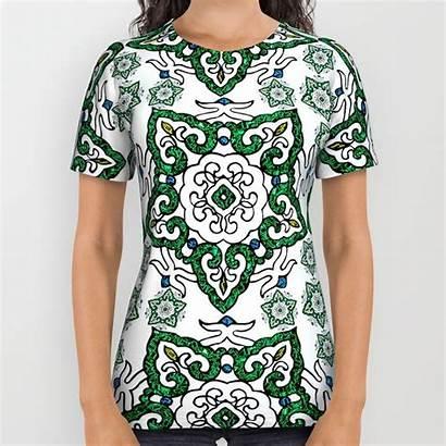 Chinese Abstract Geometric Shirts Printed Moonlake Society6