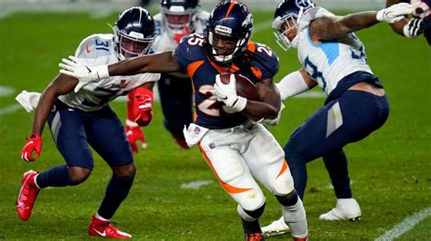 Broncos RB Gordon, TE Fant out against Patriots ...