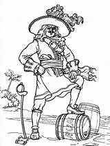 Pages Pirates Coloring Printable sketch template