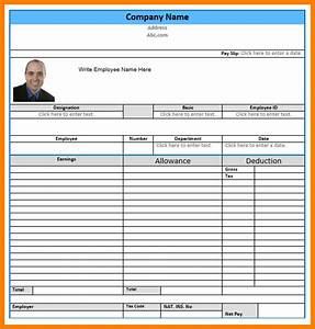 7  Microsoft Word Payroll Template